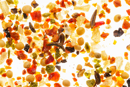 spice background closeup Archivio Fotografico
