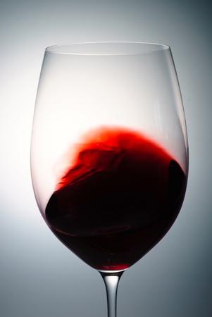 red wine closeup