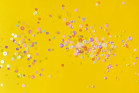 colorful glitter closeup