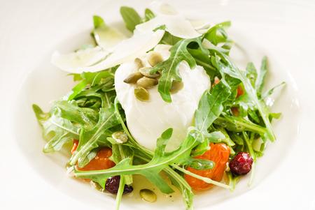 fresh saladm with cheese Stockfoto