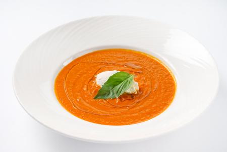 cream tomato soup Stock fotó