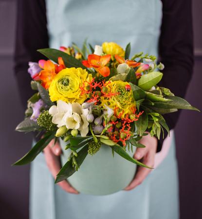 手の中の素敵な花束