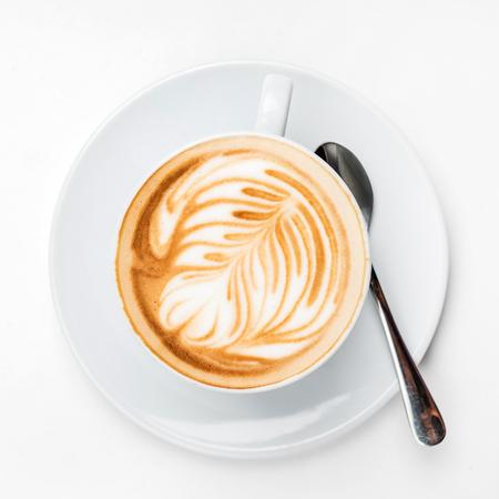 cup of cappuccino Foto de archivo