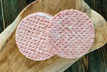 frozen burger cutlets