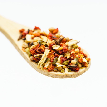 spice on the spoon