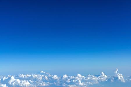 nice clouds in the sky Stok Fotoğraf