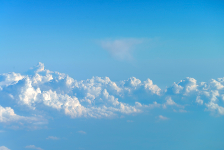 nice clouds in the sky 스톡 콘텐츠