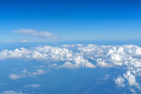 nice clouds in the sky 写真素材