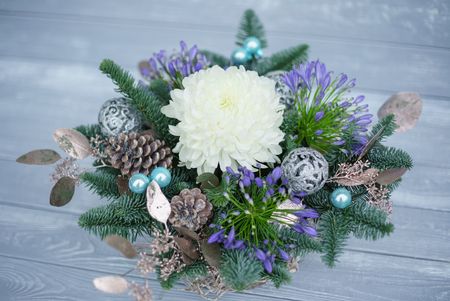nice winter bouquet Stock Photo - 100800923
