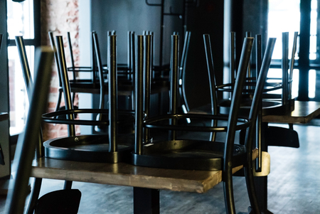 empty chairs in the bar Archivio Fotografico - 101201417