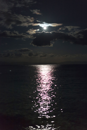moon light Archivio Fotografico