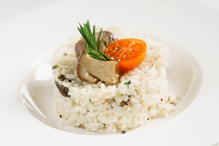 rice with mushrooms Фото со стока