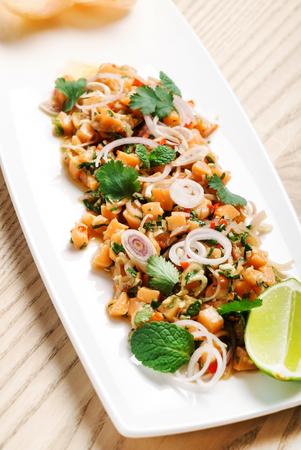 thai food in the restaurant