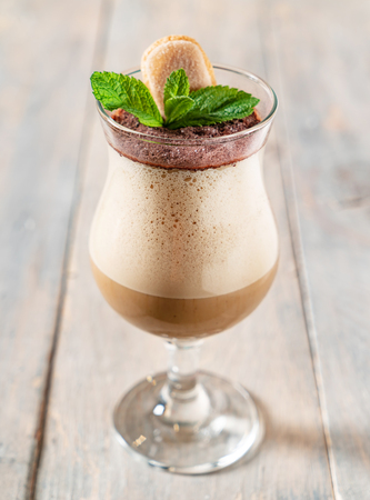 cold coffee with chocolate Banque d'images - 102463576