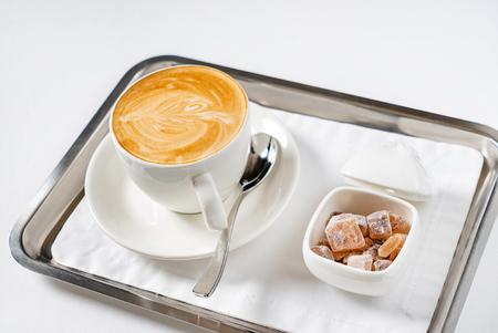 cup of cappuccino Foto de archivo - 103196172