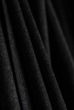 black curtain texture Archivio Fotografico - 103753294