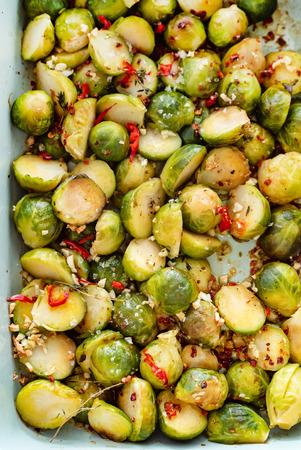 roasted vegetables closeup
