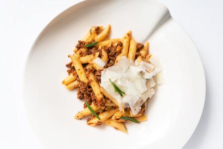 italian bolognese pasta Фото со стока