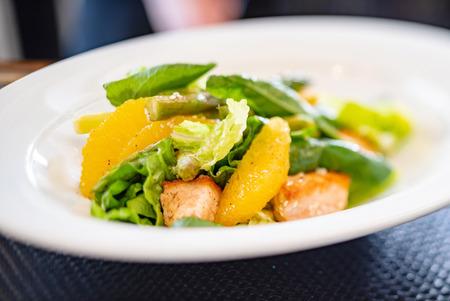 fresh citrus salad 版權商用圖片