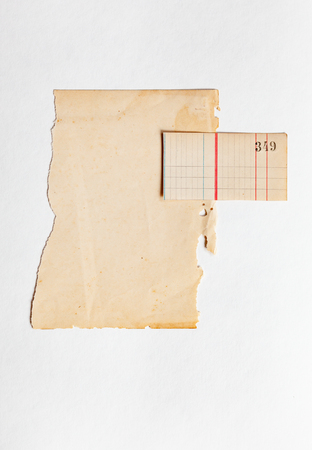 vintage old paper Stock Photo - 106655512