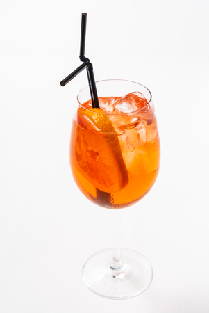 cocktail with grapefruit Stock Photo