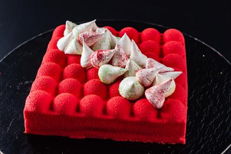 red velvet cake Zdjęcie Seryjne
