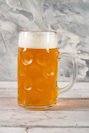 glass of beer 스톡 콘텐츠