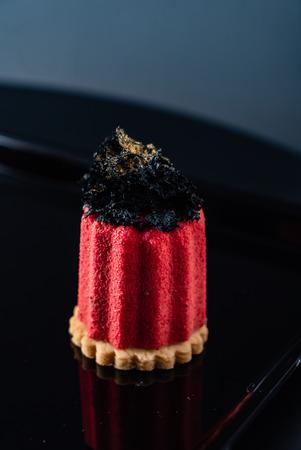 Caneles de bordeaux - traditional French sweet dessert