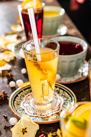 Winter teas and infusions