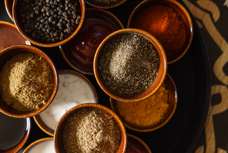 different kinds of spice