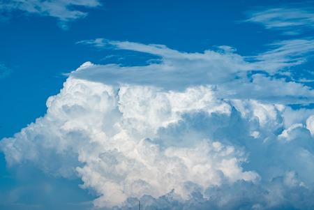 nice clouds in sky Reklamní fotografie