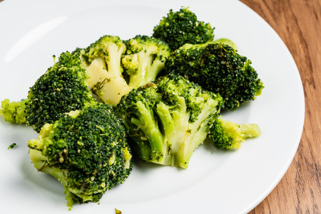 broccoli on the plate
