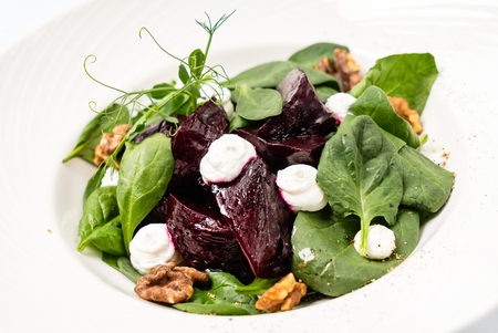 salad with beetroot Stockfoto