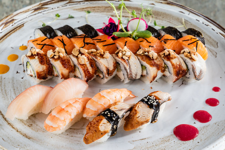 big sushi set