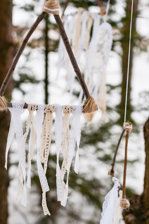 decoration in the forest