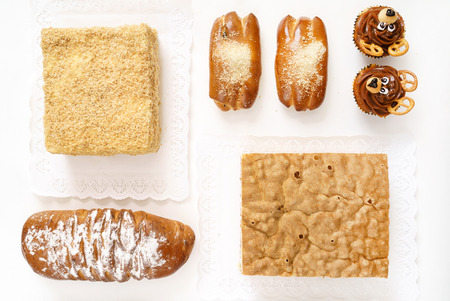 different kinds of pastry