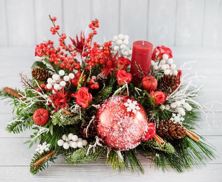 Christmas floristic composition