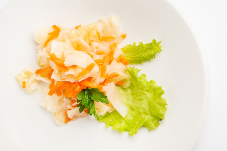 cabbage salad with carrot