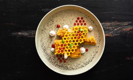 creative honey cake