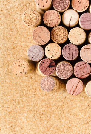 Used wine corks