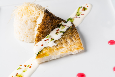 Carp with rice