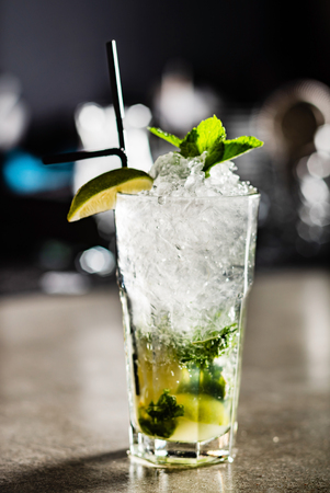 cocktail in the bar Reklamní fotografie - 115016689