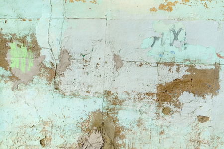 Empty Old  Wall Texture Stock Photo