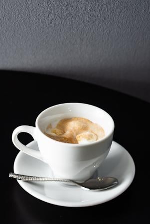 espresso with ice cream Banque d'images - 115020342