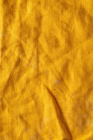 orange linen fabric background 版權商用圖片