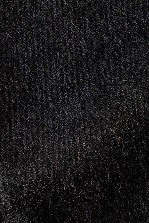 texture of black shiny fabric