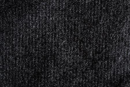 texture of black shiny fabric