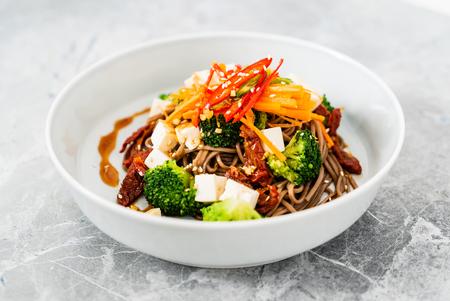 salad with noodle 写真素材