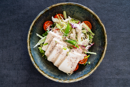 tasty asian salad 写真素材