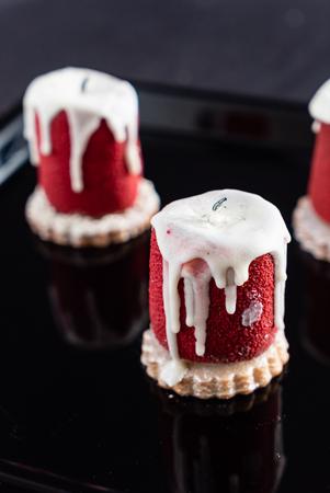 creative Christmas cake